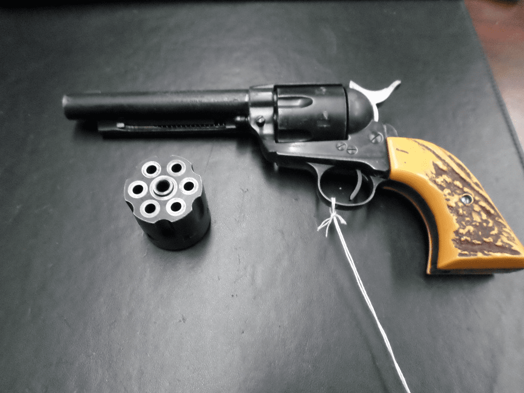 J.P. Sauer & Sohn Manufactured / Hawes firearms imported western sixshooter (.22 LR)