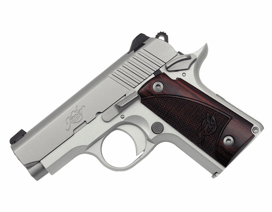Kimber Micro Stainless .380 W/Rosewood Grips