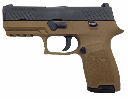 P320 Compact FDE Two-Tone (9mm)