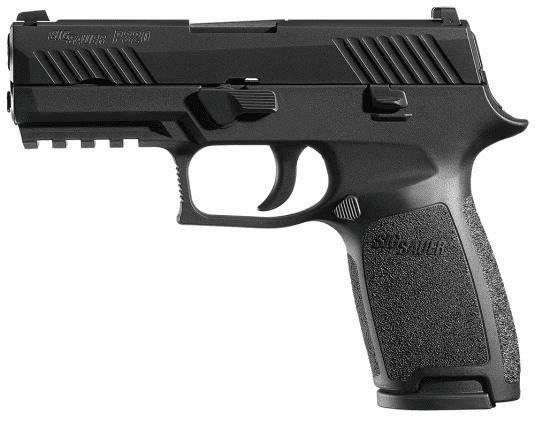 P320 Nitron Carry (9mm) Night sights