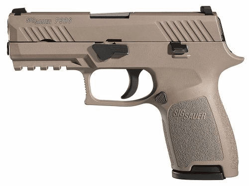 P320 Tan Compact (9mm) Night sights