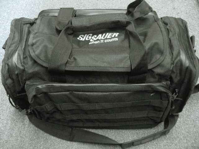 Sig Sauer range bag TO1B very nice bag