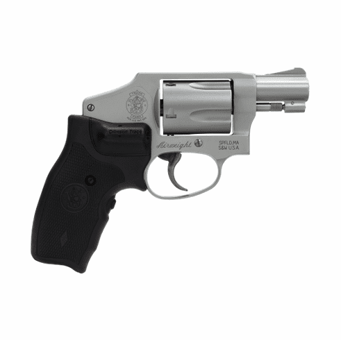 Smith & Wesson 642-2 (.38) with Crimson Trace laser