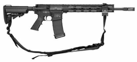 Smith & Wesson M&P 15 Viking Tactics Addition (VTAC II, 5.56) Vltor Stock and Geissele Trigger
