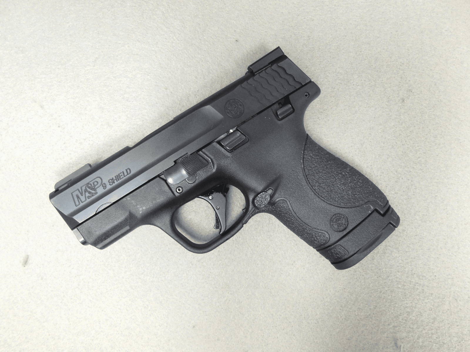 Smith & Wesson M&P 9 Shield with Apex Trigger & Truglo Sights (9mm)