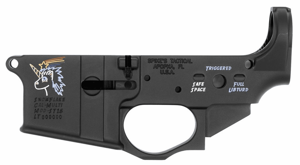 Spikes Tactical ST-15 Snowflake-color filled