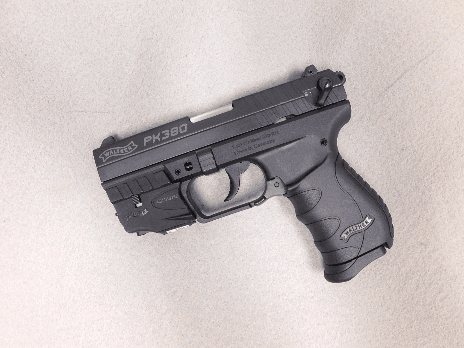 Walther PK380 (.380) Laser and original case