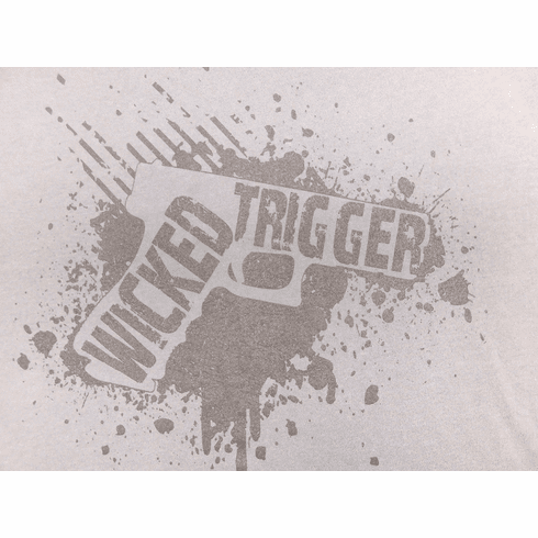 Wicked Trigger Firearms Grey (S/M/L/XL/2X/3X)