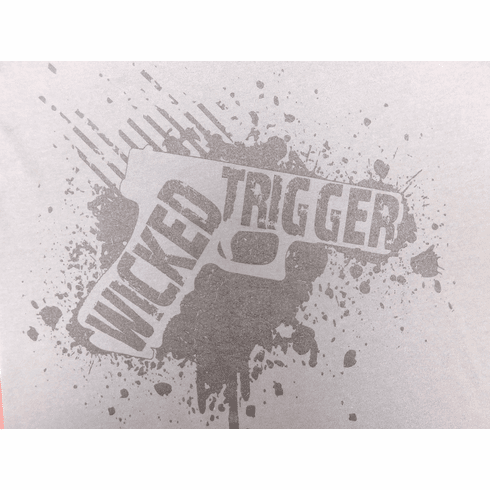 Wicked Trigger Hoodie Grey (3X)