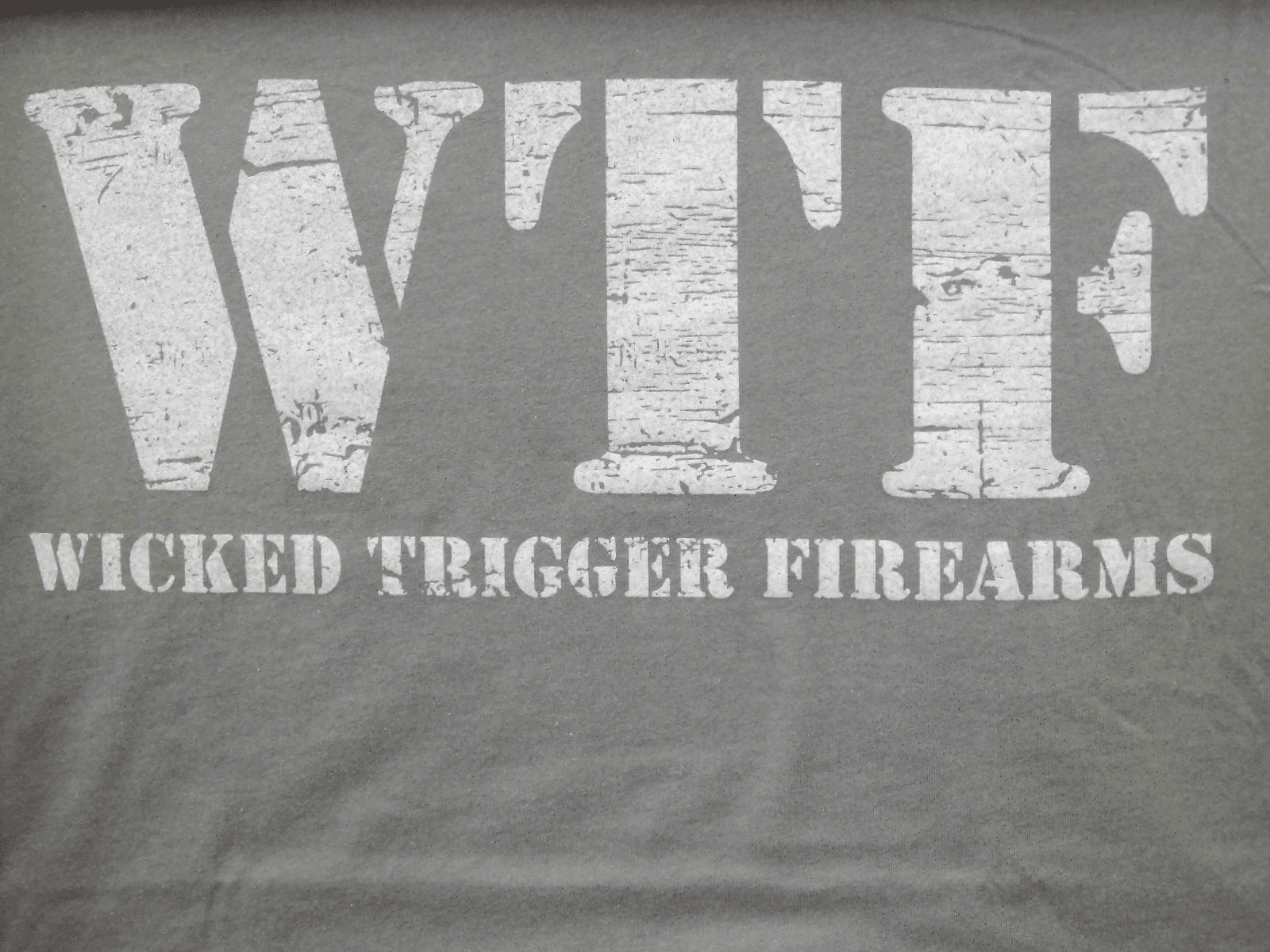 WTF Ladies Tee in Navy and Grey (2X)