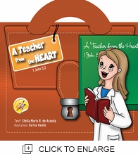 A TEACHER FROM THE HEART COLORING BOOK