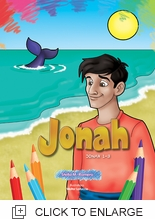 JONAH COLORING BOOK