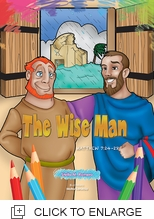 THE WISE MAN COLORING BOOK