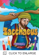 ZACCHAEUS COLORING BOOK