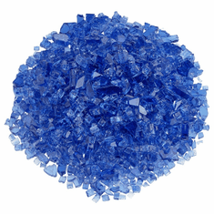 1/4in Cobalt Blue Fireglass