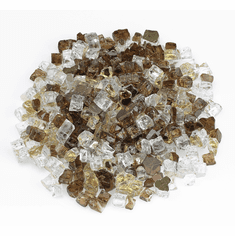 1/4in Zion Pre-Mixed Reflective Fireglass