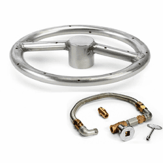 12in Stainless Steel Fire Pit Kit