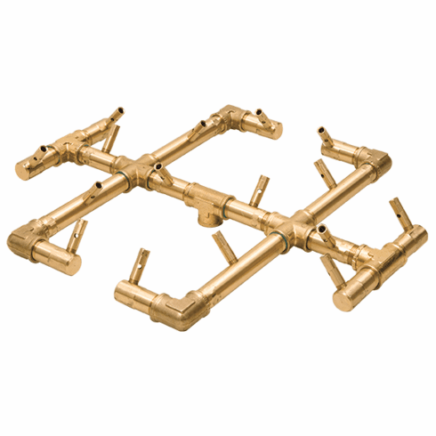 "17"" X 15"" Original Crossfire Brass Burner 180K BTU"