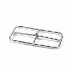 24X12in Stainless Steel Rectangular Fire Ring