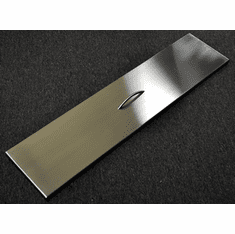 "28""X 9.5"" Stainless Steel Linear Cover"