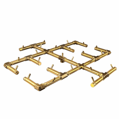 "30.5"" x 30.5"" Original Crossfire Brass Burner 300K BTU"