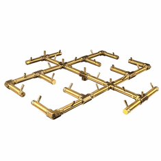 "30.5"" x 30.5"" Original Crossfire Brass Burner 350K BTU"