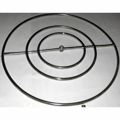 30in High Capacity Stainless Steel Fire Ring