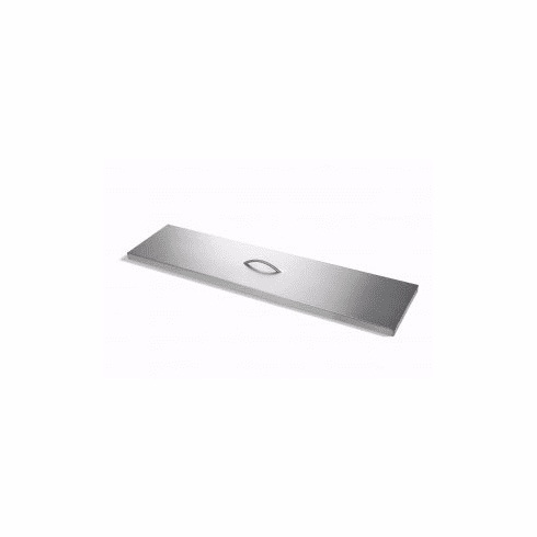 """34""""X 16"""" Stainless Steel Rectangular Cover"""