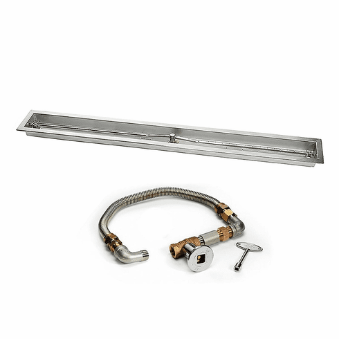 "36"" Trough Burner with Pan Match-lit Kit"