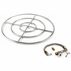 36in High Capacity Stainless Steel Fire Pit Kit