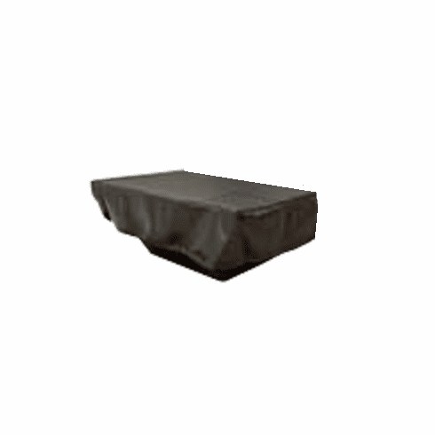 62 X 30in Black Vinyl Firepit Cover