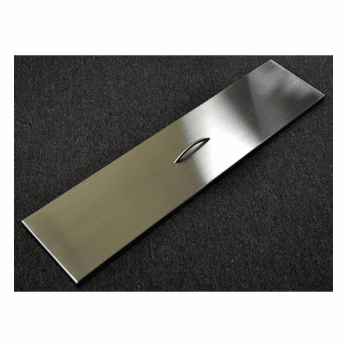 """64""""X 9.5"""" Stainless Steel Linear Cover"""