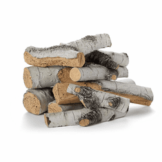 Aspen Birch Outdoor Log Sets