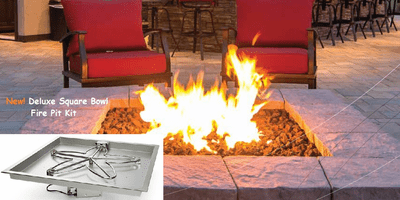 Electronic Ignition Fire Pit Kits