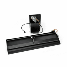 Electronic Ignition Outdoor Fireplace Dual Burner Kit 28in