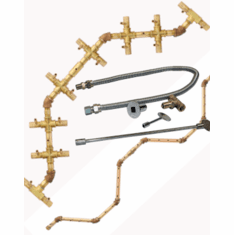 Exclusive CROSSFIRE Match lit Fire Pit Kits