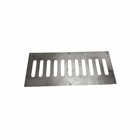 Fire Pit Enclosure Vent 12inX 6in Stainless Steel