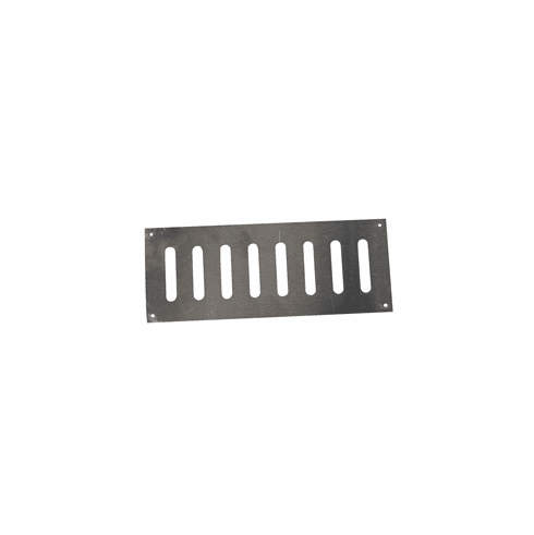 Fire Pit Enclosure Vent 8inX 4in Stainless Steel