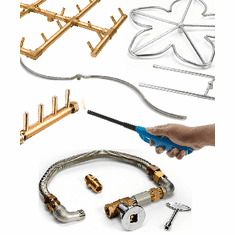 Match-lit Unassembled Burner Kits