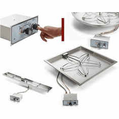 Push Button / Flame Sensing Fire Pit Kits