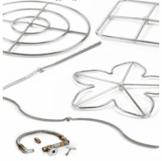 Stainless Steel Fire Pit Kits