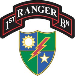 1st Battalion, 75th Ranger Regiment Decal