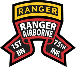 1st Battalion 75th (RGT) Ranger Airborne Decal