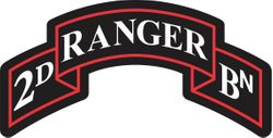 2nd Ranger Battalion Decal