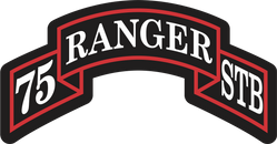 75th Ranger Regiment Special Troops Battalion (STB) Decal