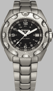 Traser P49 Special Force 100 Watch with Titanium Strap
