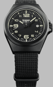 Traser P59 Essential S Black Watch with Nato Strap