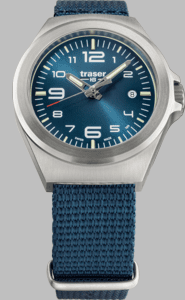 Traser P59 Essential S Blue Watch with Nato Strap