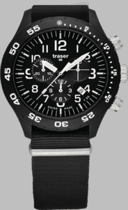 Traser P67 Officer Chronograph Pro Watch with Nato Strap