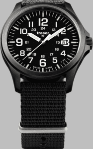 Traser P67 Officer Pro Watch with Nato Strap